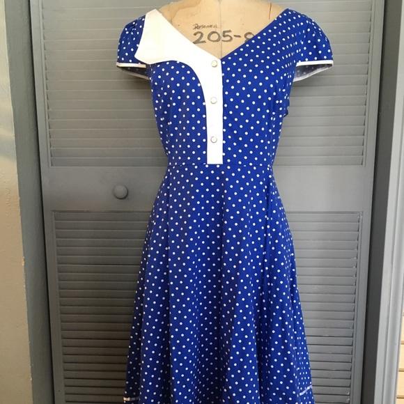 Dresses | Plus Size Retro Dress | Poshmark
